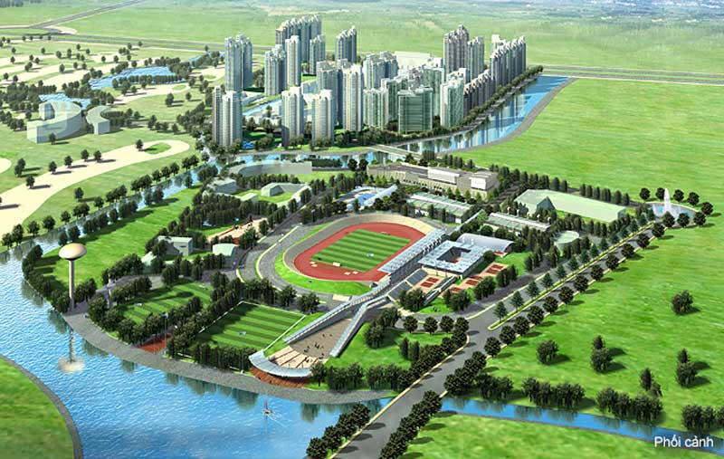 phoi canh du an saigon sports city