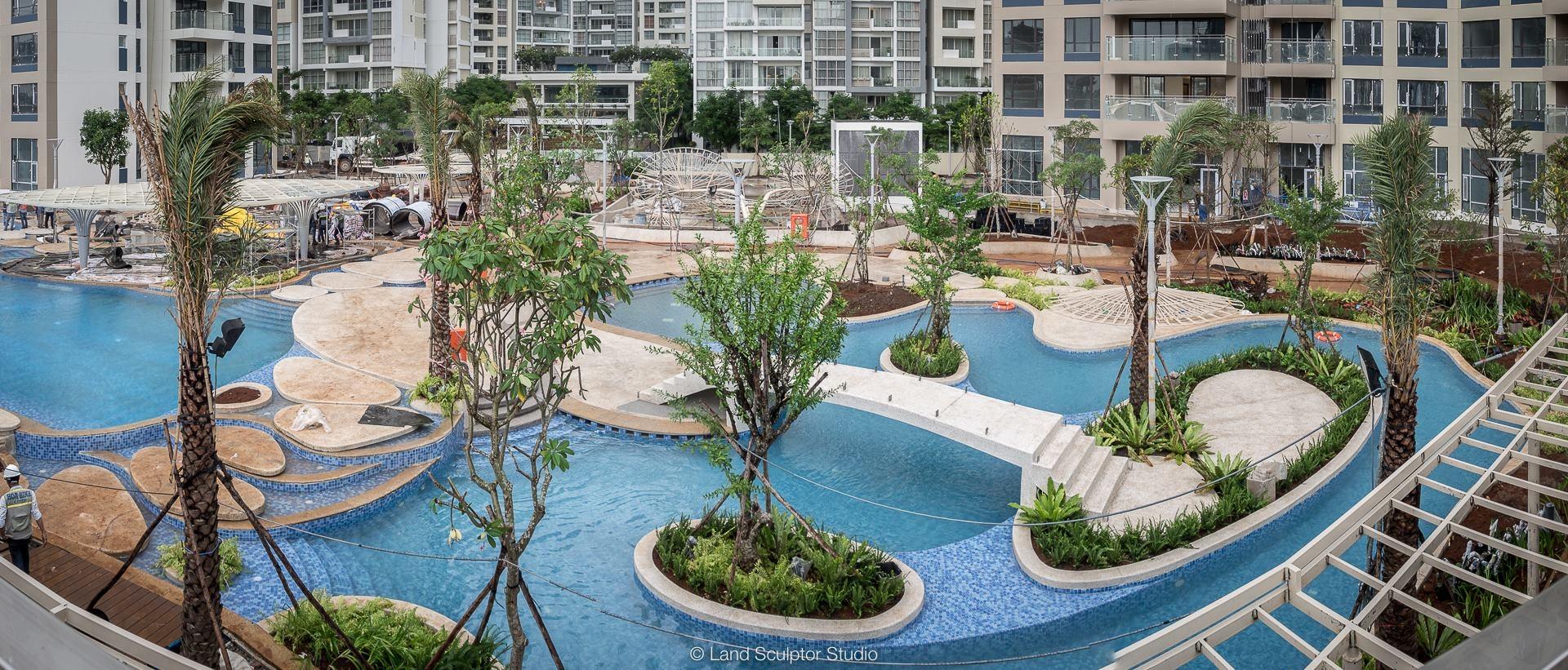 So sánh giá bán căn hộ Palm Garden với các dự án xung quanh