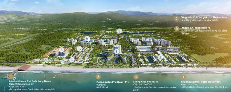 phoi canh sailing club phu quoc villas & resort du an phu quoc marina