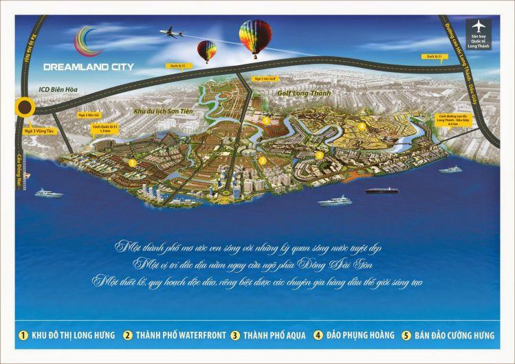 phoi canh tong the khu do thi dreamland city