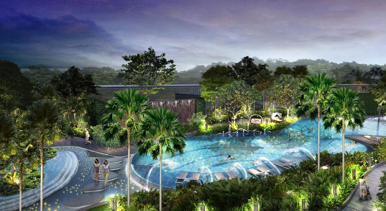 Vị trí dự án Palm Garden quận 2 có gì đặc biệt ?