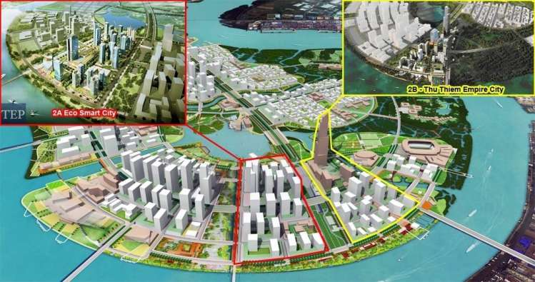 vi tri du an eco smart city