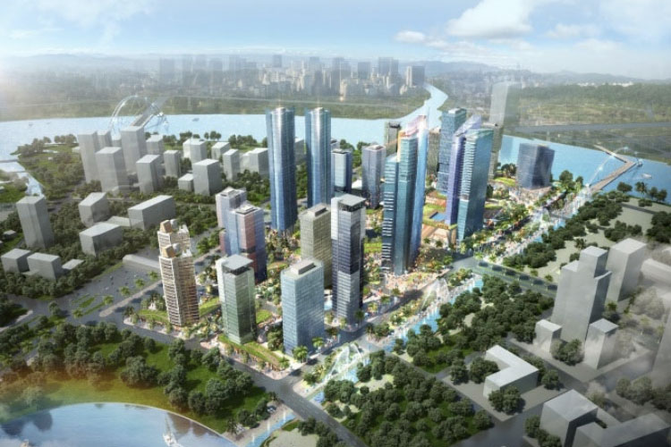 phoi canh eco smart city