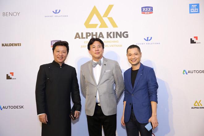 le ra mat thuong hieu alpha king