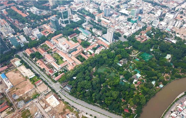 view the centennial thao cam vien