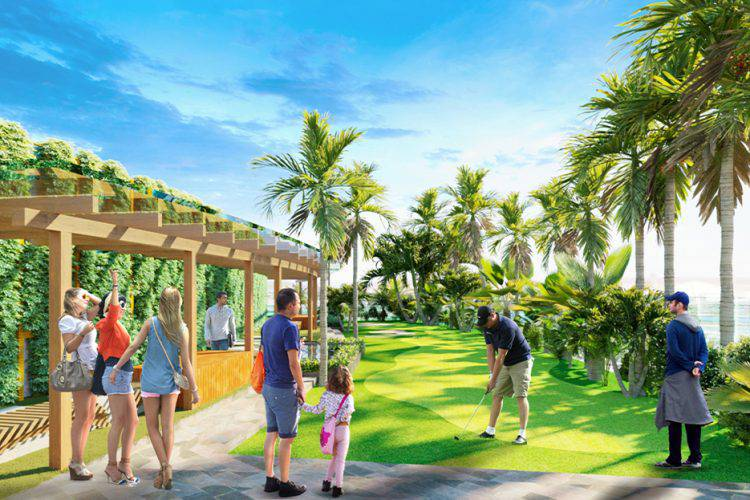 san tap golf tren cao sunshine diamond river