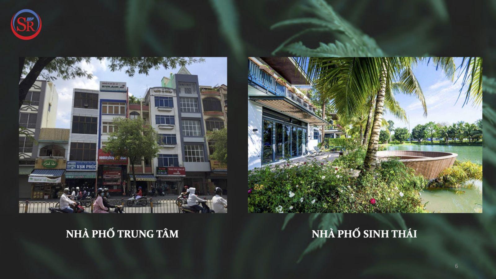 nha pho sinh thai aqua city