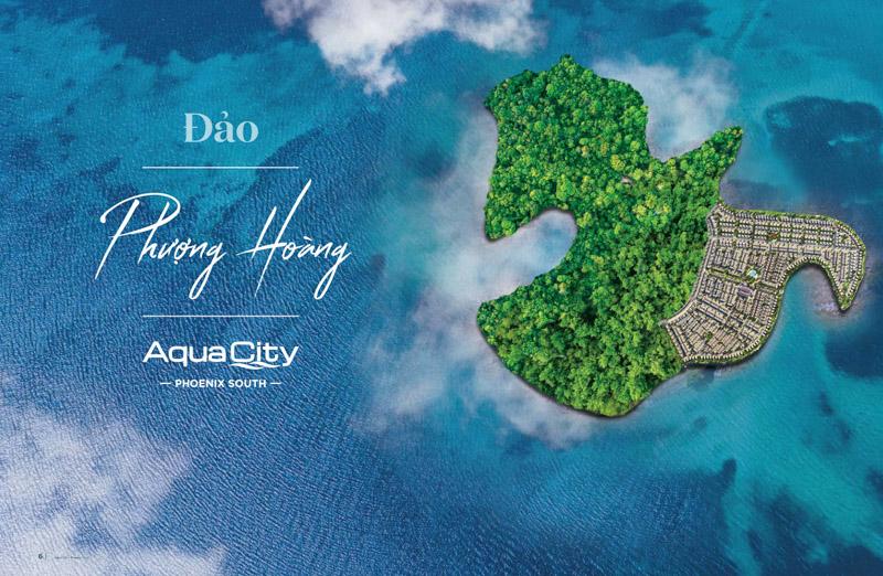 phoi canh dao phuong hoang aqua city