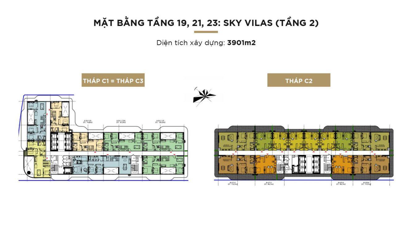 mat bang tang 2 sky villa sunshine continental