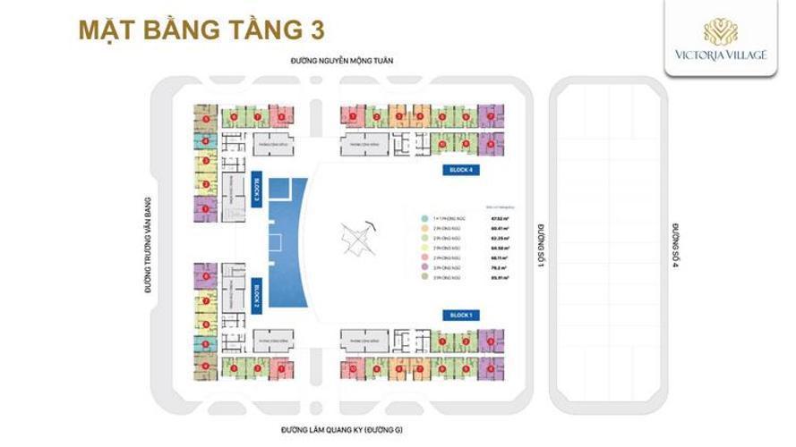 mat bang tang 3 du an victoria village