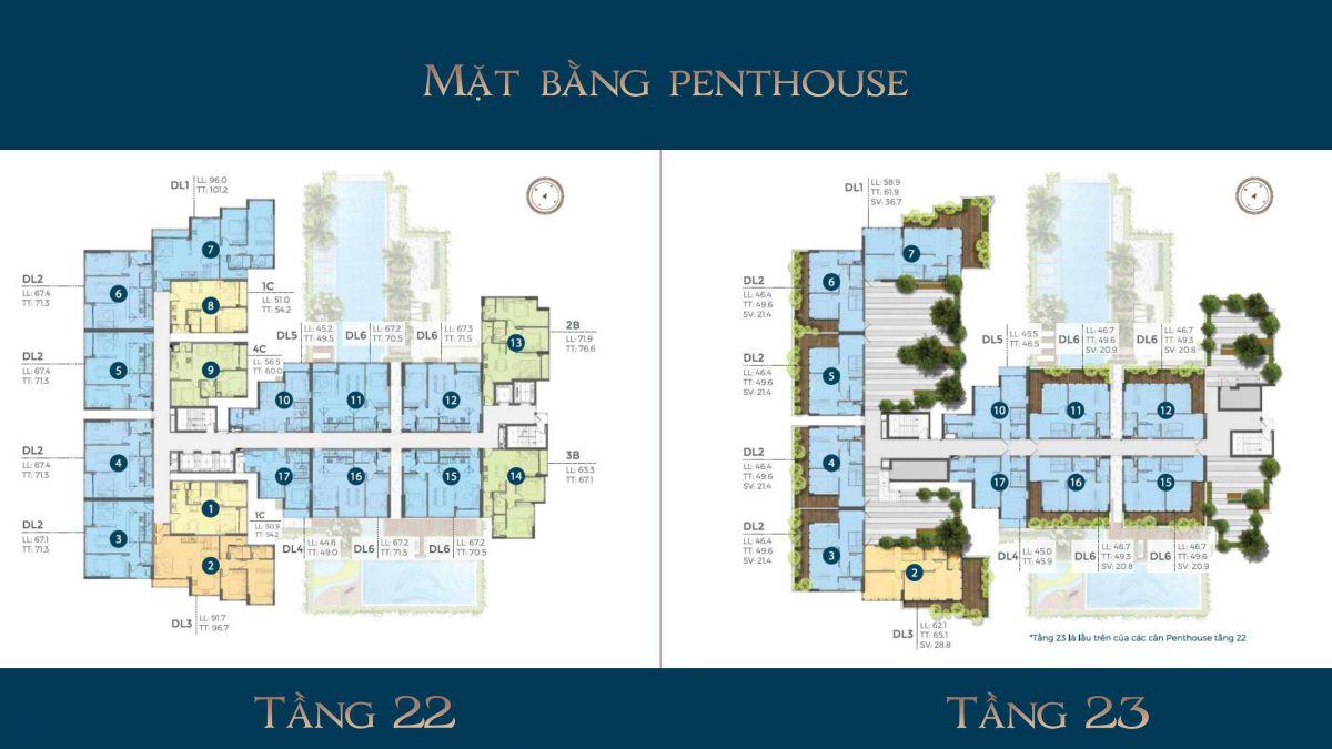 mat bang penhouse precia