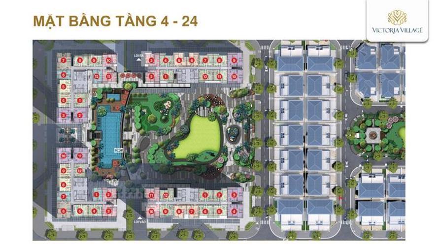 mat bang tang 4 du an victoria village