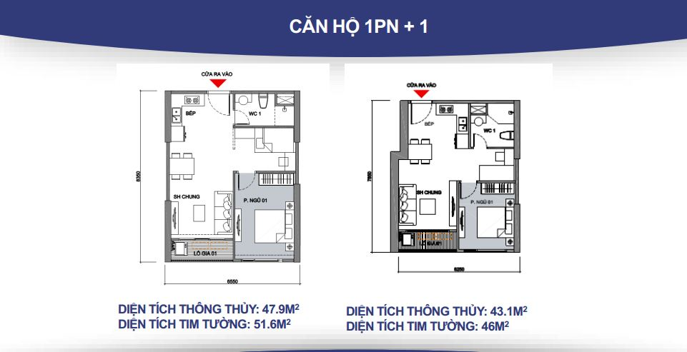 can ho 1 phong ngu + 1 vinhomes grand park