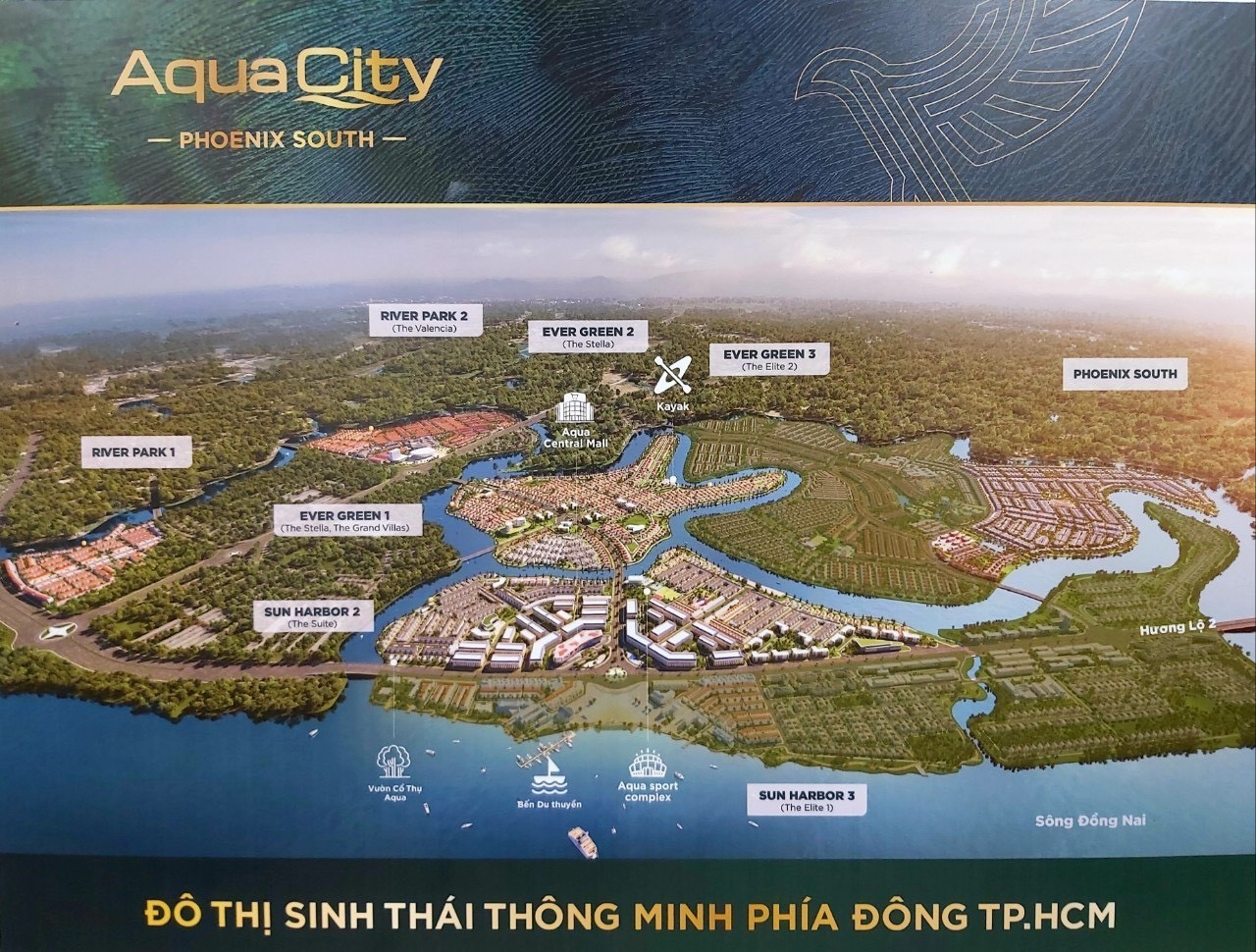 phoi canh phan khu phoenix south aqua city