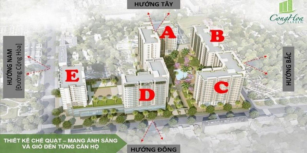 mat bang can ho cong hoa garden