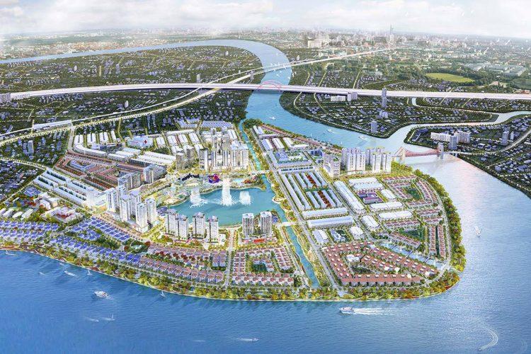 phoi canh tong the du an van phuc city