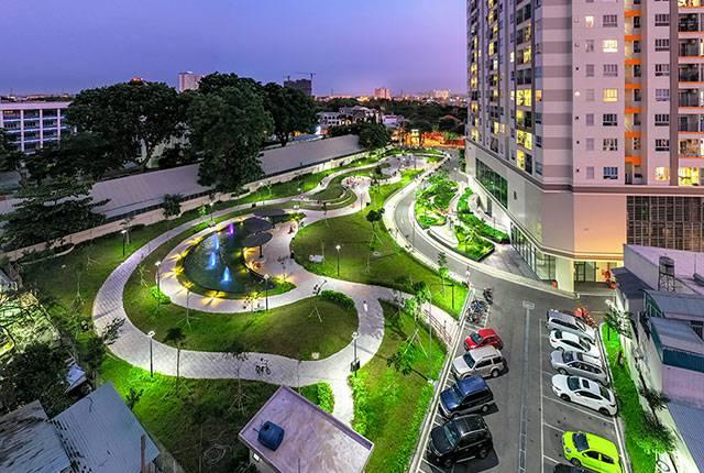 cong vien moonlight residences