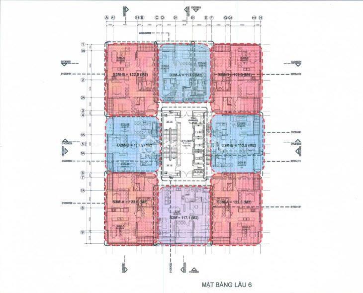 mat bang tang new pearl residence