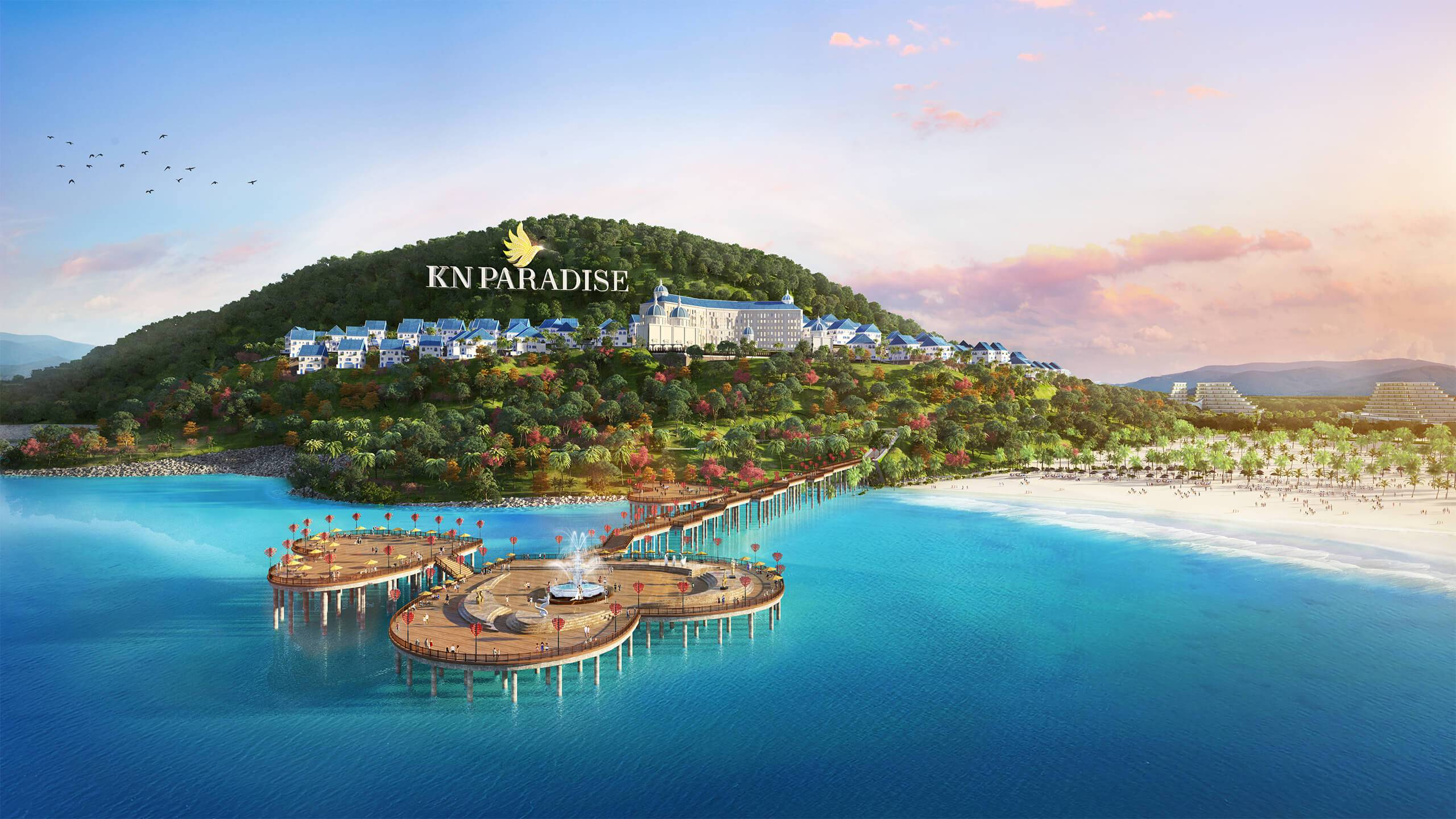 phoi canh du an kn paradise