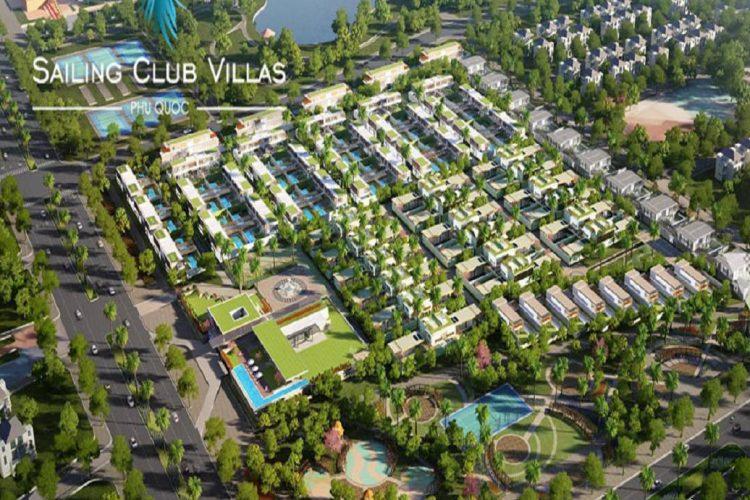 phoi canh du an sailing club villas phu quoc
