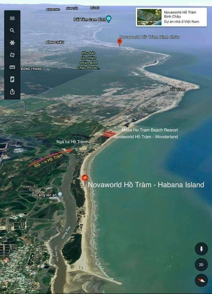vi tri du an habana island novaworld ho tram