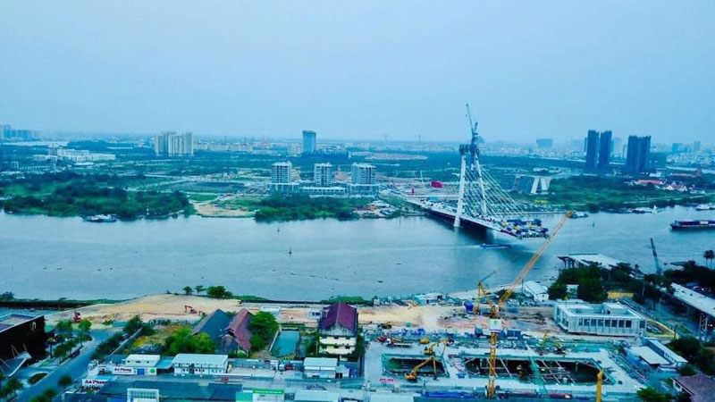view thuc te du an grand marina saigon ve thu thiem