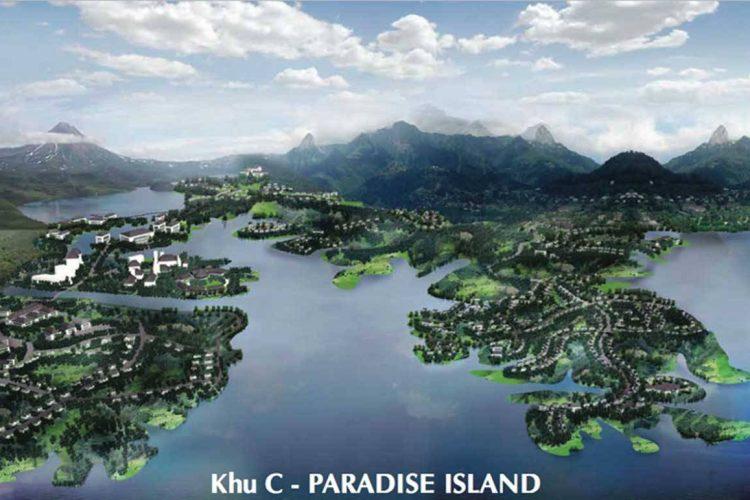khu c paradise island khu do thi nam da lat