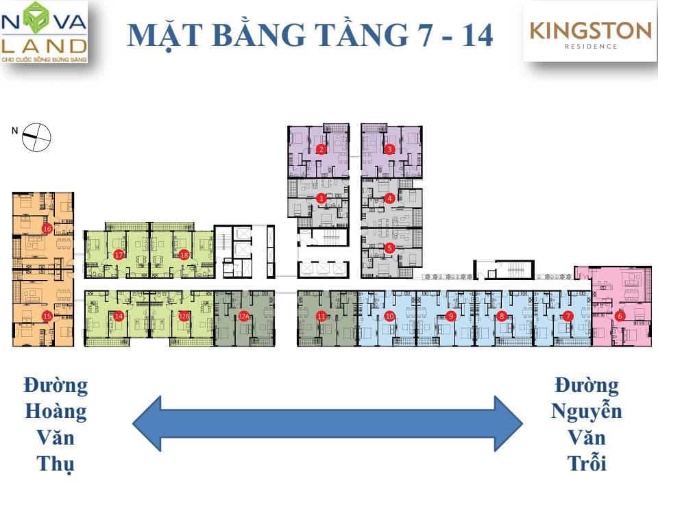 mat bang tang kingston residence