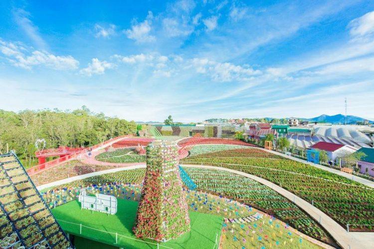 tien ich noi khu dalat paradise garden