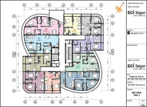 mat bang du an conic skyway residence