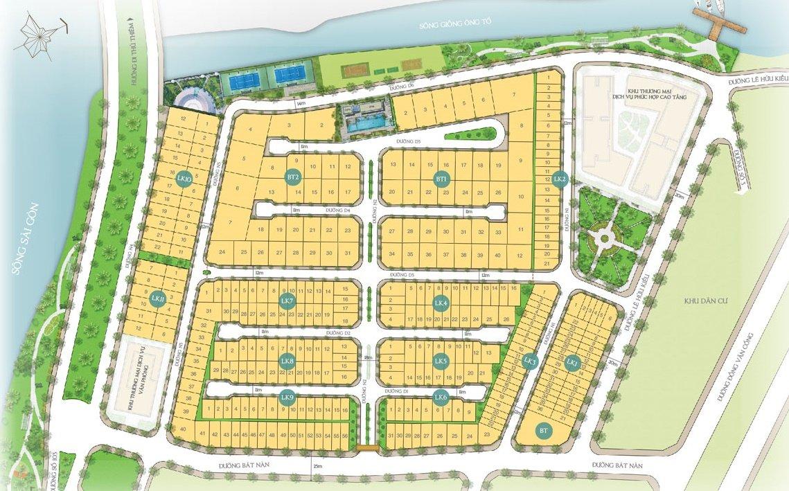 mat bang saigon mystery villas