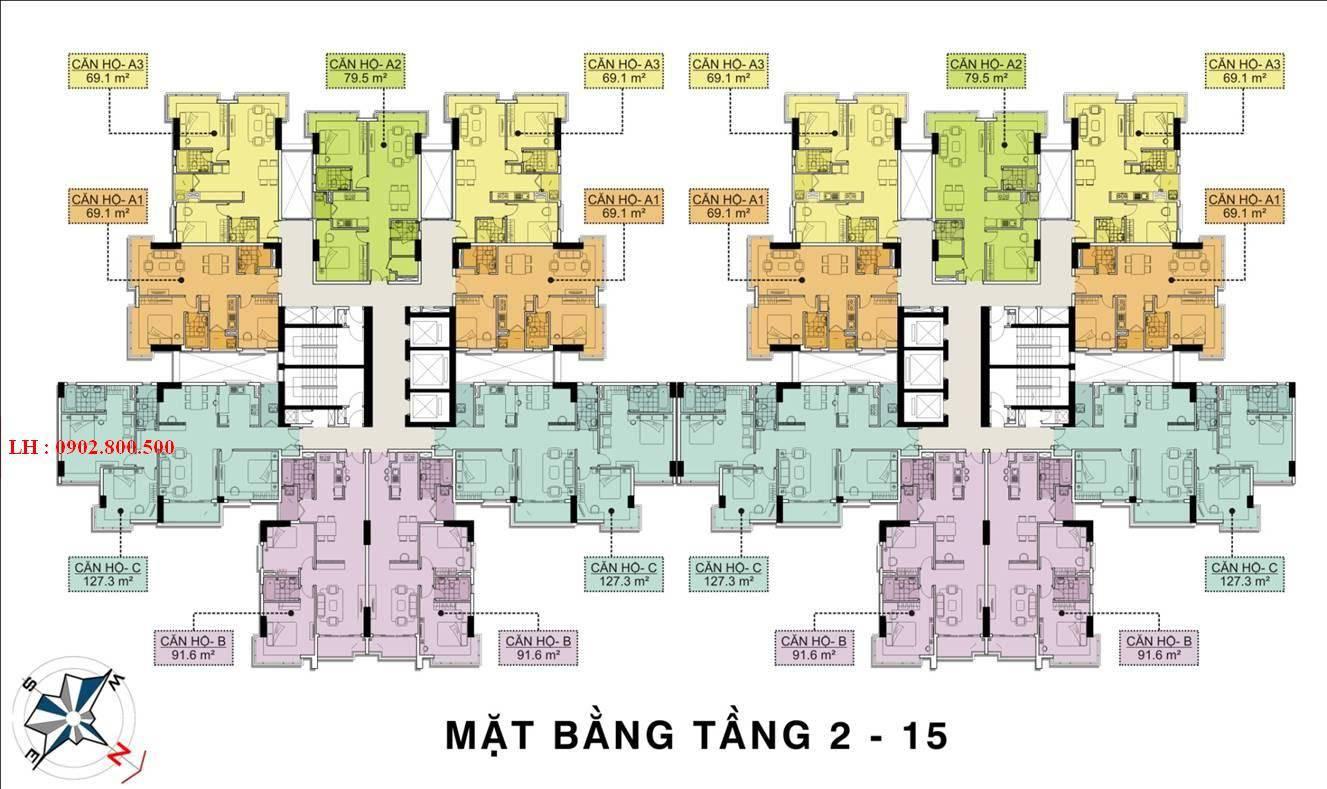 mat bang tang chung cu terra rosa