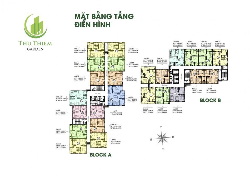 mat bang tang can ho thu thiem garden