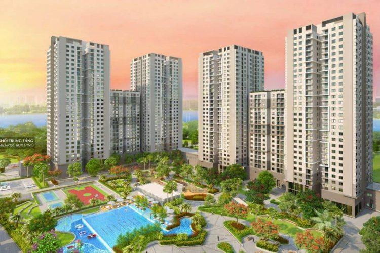 phoi canh du an lake view residences