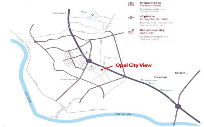 vi tri opal cityview