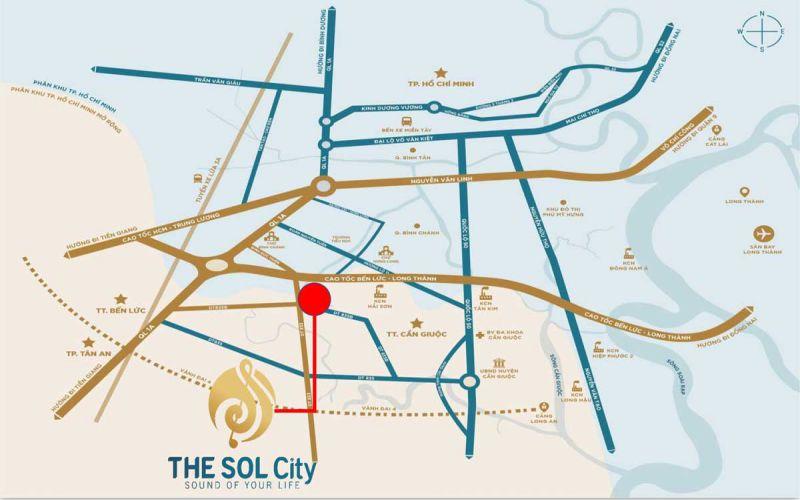 vi tri the sol city