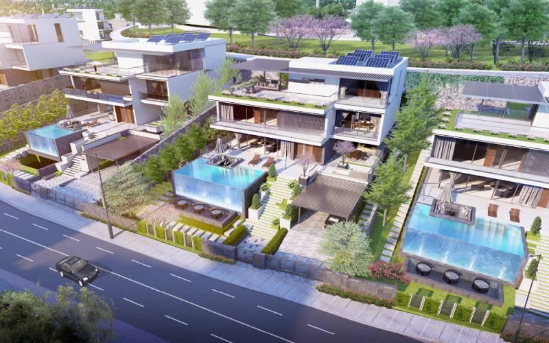 biet thu don lap green pine villas