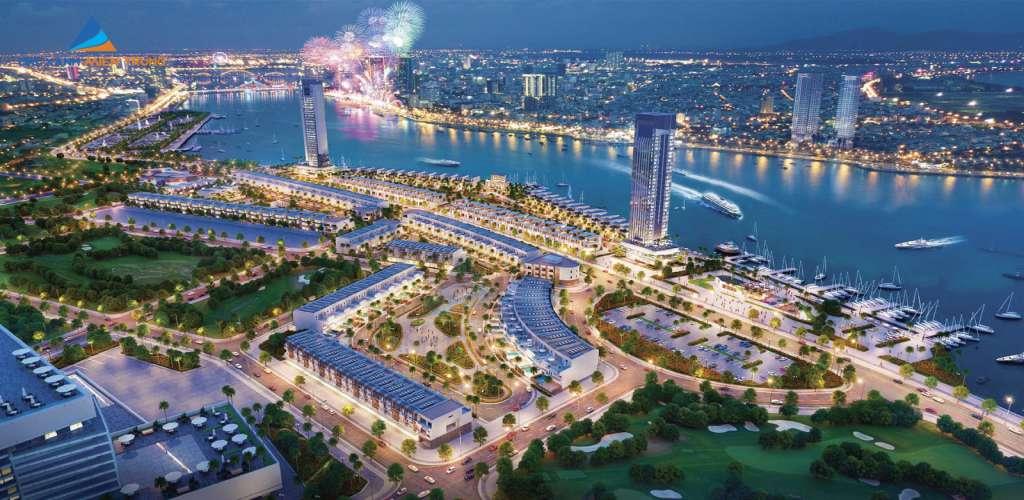 phoi canh du an marina complex