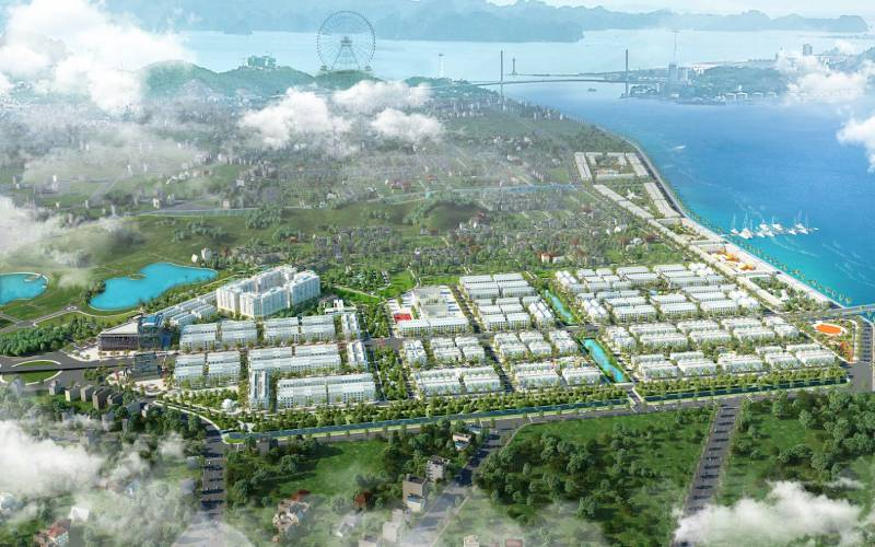 phoi canh du an flc tropical city ha long
