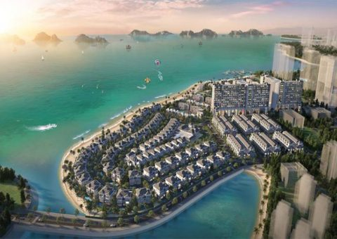 phoi canh grand bay ha long villas