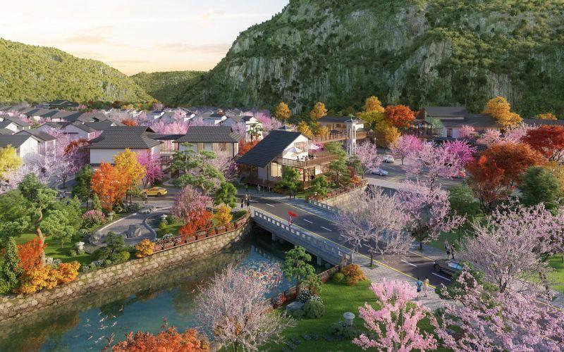tien ich du an sun onsen village