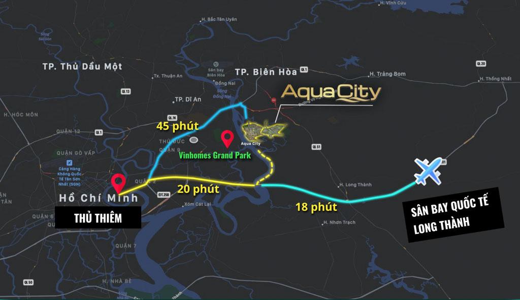 vi tri du an aqua city