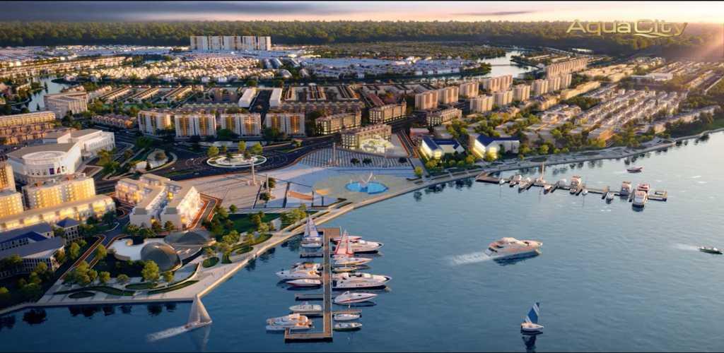 phoi canh phan khu aqua city sun harbor 1