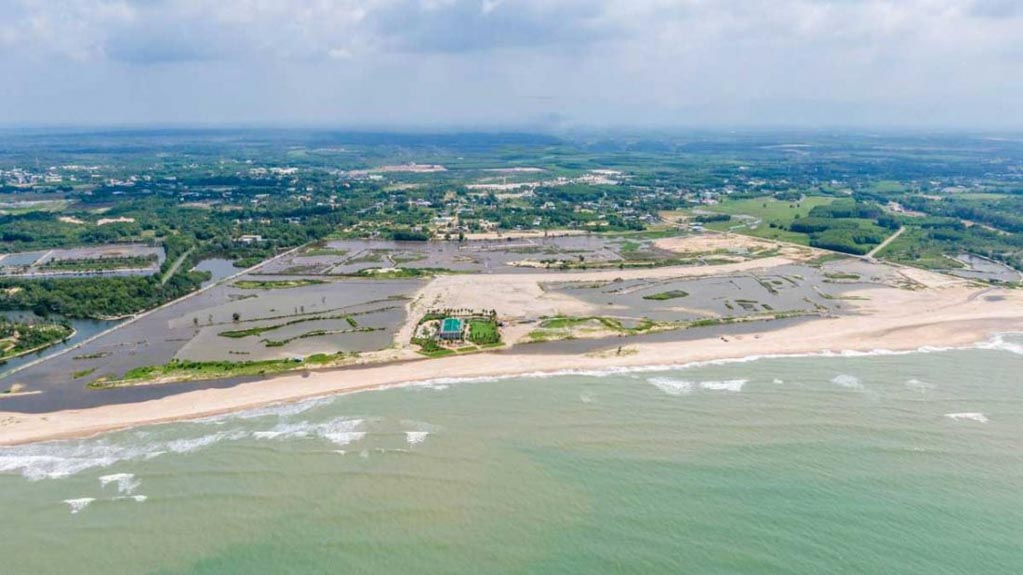 tien do xay dung venezia beach 2021