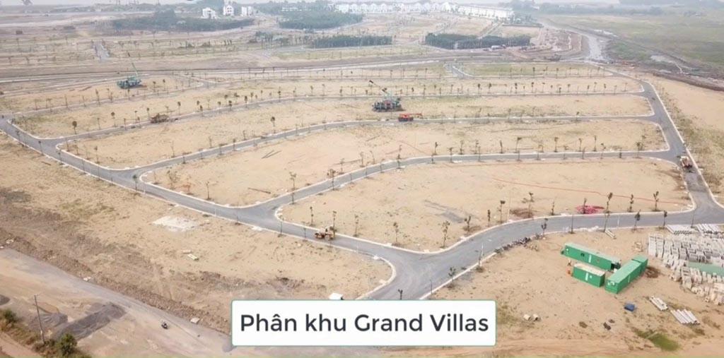 tien do phan khu grand villas tai aqua city