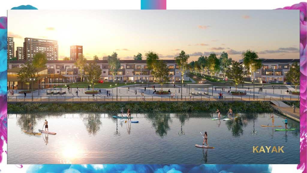 ben thuyen kayak the elite 2 aqua city