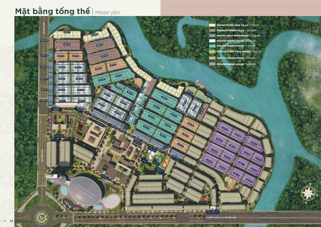 mat bang phan khu aqua city valencia