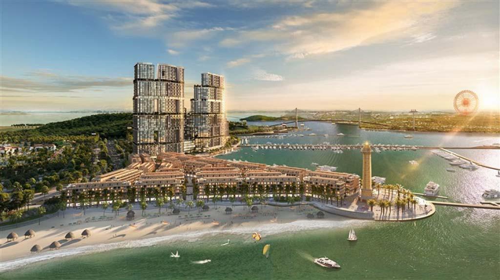 phoi canh tien do sun grand marina town ha long