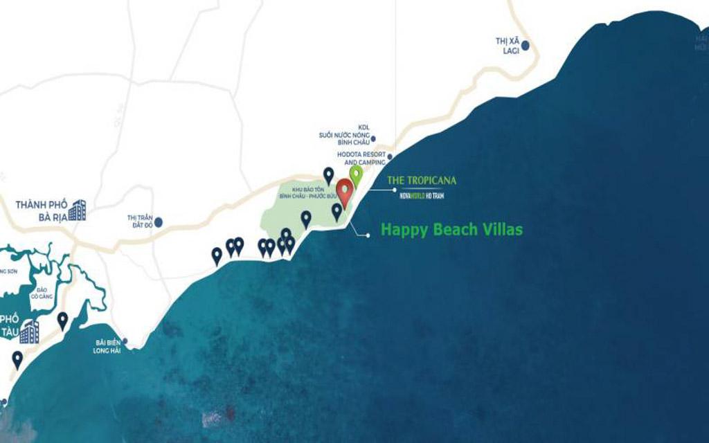 vi tri co loi voi gia ban phan khu happy beach villas