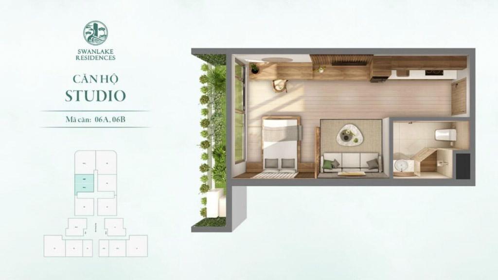 can ho studio gia ban the landmark swanlake residences